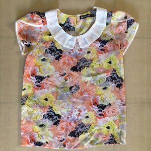 Tops - AllegraK Floral Blouse